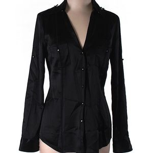 💋 WHBM Button Up Blouse